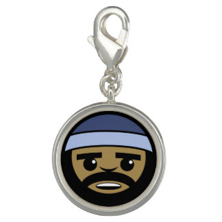 Rap Face Charms