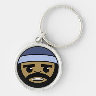 Rap Face Keychain