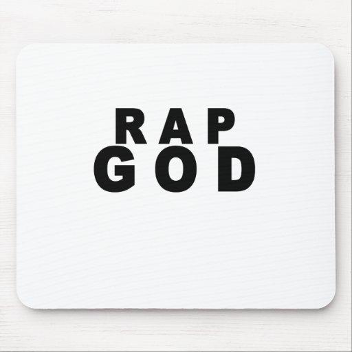 Rap God Shirt M.png Mouse Pad