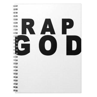 Rap God Shirt M.png Notebooks