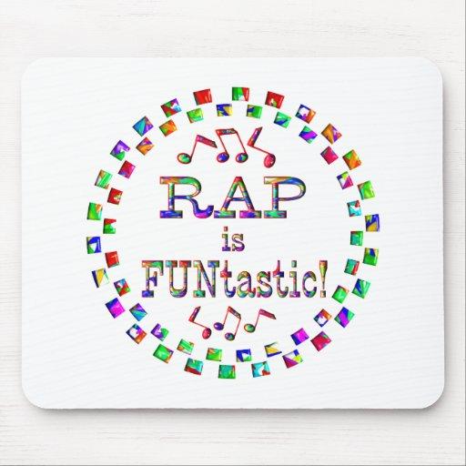 RAP is FUNtastic Mousepad