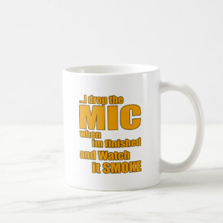 Rap music t shirt coffee mug