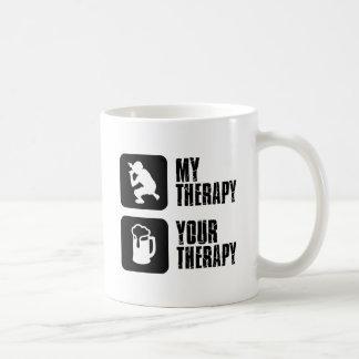 Rap  therapy designs classic white coffee mug