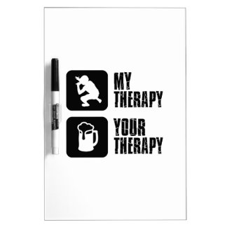Rap  therapy designs Dry-Erase board