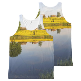 Rapeseed field All-Over-Print tank top