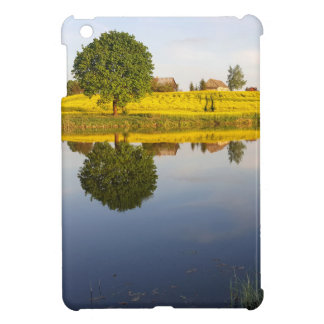 Rapeseed field cover for the iPad mini