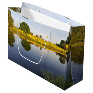 Rapeseed field large gift bag