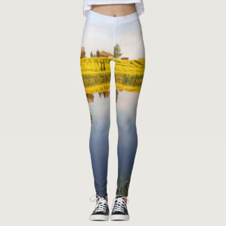 Rapeseed field leggings