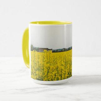 Rapeseed field mug