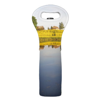 Rapeseed field wine bag