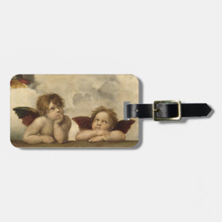 Raphael Angels Luggage Tag