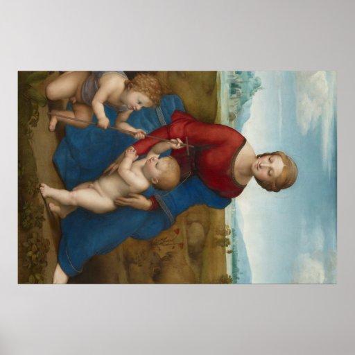 Raphael Art Work Painting Print