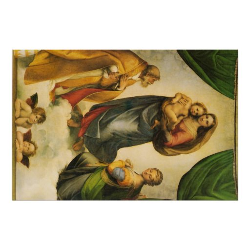 Raphael Art Work Painting Posters