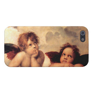 Raphael Cherubs Sistine Madonna iPhone 5 case