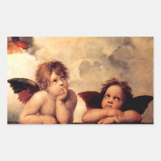 Raphael Cherubs Sistine Madonna Stickers