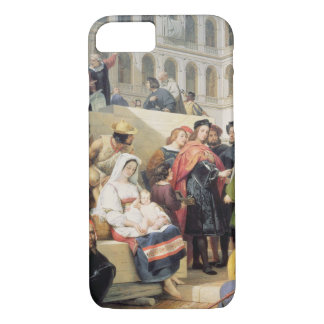 Raphael in the Vatican, 1832 (oil on canvas) iPhone 7 Case