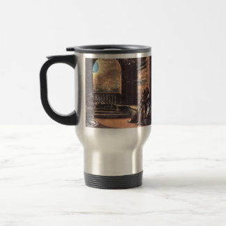 Raphael: Isaac and Rebecca Spied upon by Abimelech Stainless Steel Travel Mug