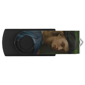 Raphael - Portrait of Bindo Altoviti Swivel USB 2.0 Flash Drive