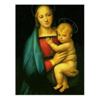 Raphael Sanzio - Madonna del Granduca Postcard