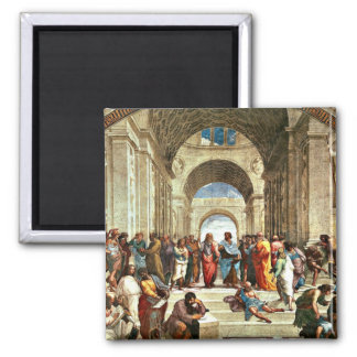 Raphael: School of Athens painting Magnet