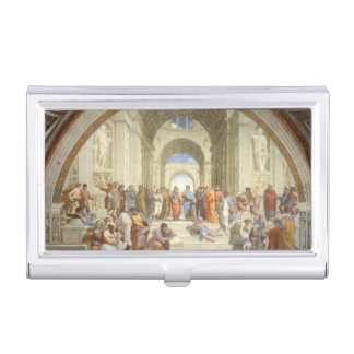 Raphael - School of Athens Business Card Holders