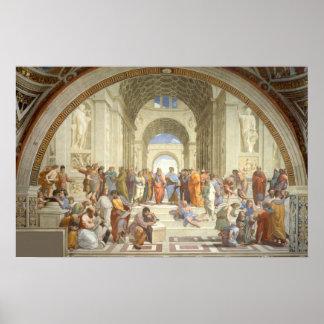 Raphael - School of Athens Poster