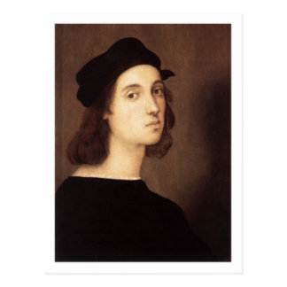 Raphael Self-Portrait postcard