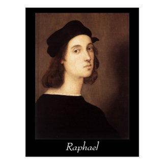 Raphael - Self-Portrait Postcrd Postcard