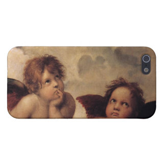 Raphael,Sistine Cherub iPhone 5 Cover