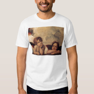Raphael,Sistine Cherub Tshirts