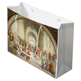 Raphael - The school of Athens 1511 Large Gift Bag