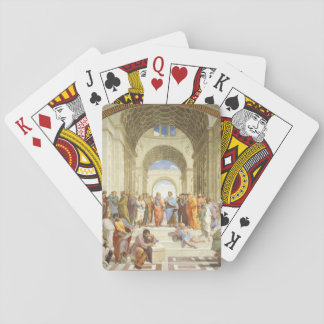 Raphael - The school of Athens 1511 Playing Cards