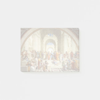 Raphael - The school of Athens 1511 Post-it Notes