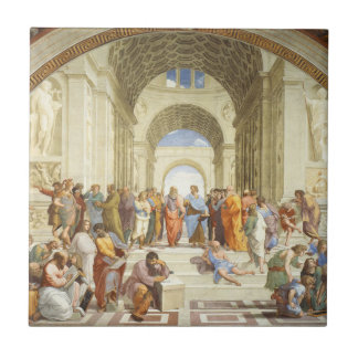 Raphael - The school of Athens 1511 Tile