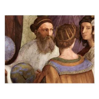 Raphael: The School of Athens (detail) Postcard