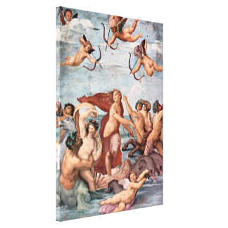 RAPHAEL - Triumph of Galatea 1512 Canvas Print