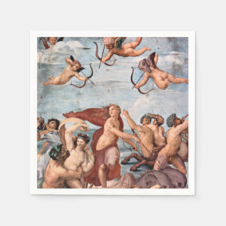 RAPHAEL -  Triumph of Galatea 1512 Disposable Napkins