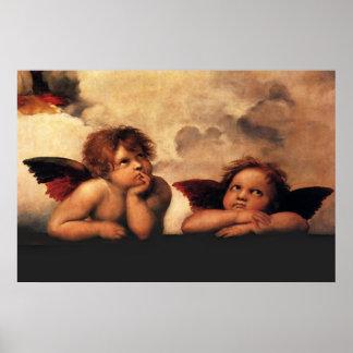 Raphaels Angels Poster