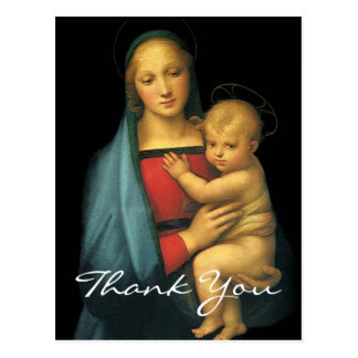 Raphael's Madonna And Child Postcard