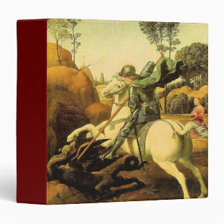 "Raphael's ""St. George and the Dragon"" (circa 1505) Binders"
