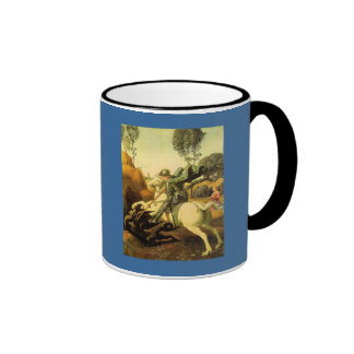 "Raphael's ""St. George and the Dragon"" (circa 1505) Coffee Mug"