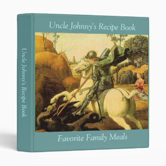 "Raphael's ""St. George and the Dragon"" (circa 1505) Vinyl Binder"