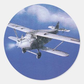 Rapid Azur Classic Round Sticker