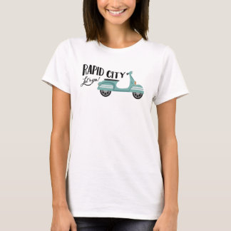 Rapid City T-shirt - Moped Scooter