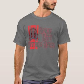 Rapid City Vintage Speed Skull Spade T-Shirt