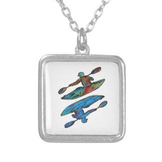 Rapid Submission Silver Plated Necklace