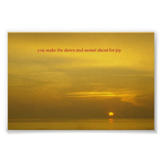 Rappahannock Sunrise Poster