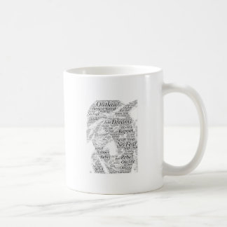 Rapper hip-hop word graffiti sketch Products Coffee Mug