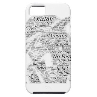 Rapper hip-hop word graffiti sketch Products iPhone 5 Cover