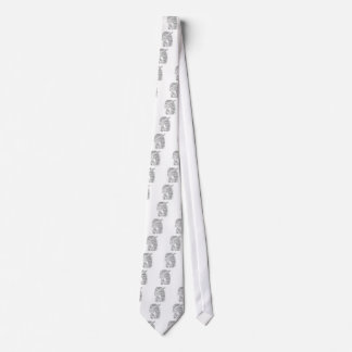 Rapper hip-hop word graffiti sketch Products Tie